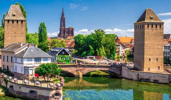 Article itinérances Strasbourg Route de l'europe