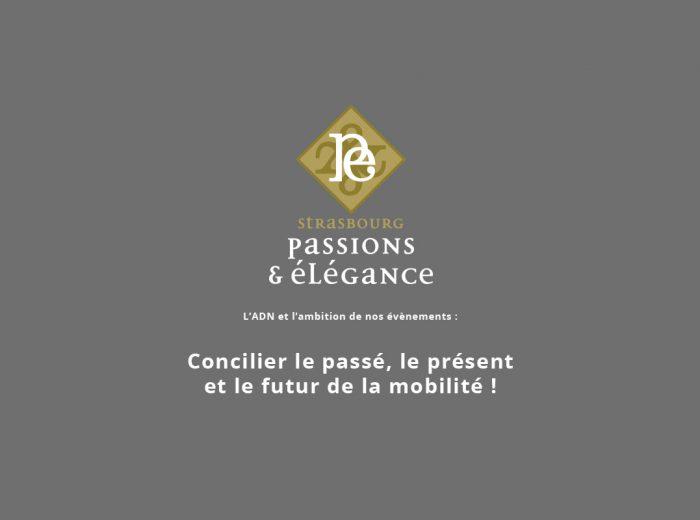 Association Strasbourg Passions et Élégance organise le 1er Concours Européen d'Élégance Automobile & Éco-Mobilité.