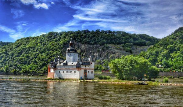 Château de Pfalzgrafenstein rhin