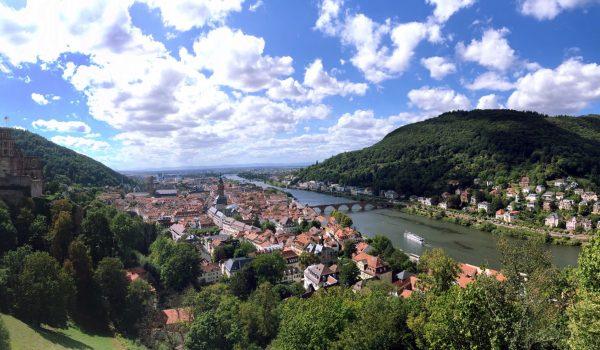 Parc naturel de bergstraße-Odenwald, Heidelberg - Bade-Wurtemberg, Allemagne