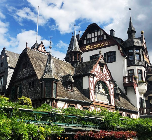 Hotel krone Rhin