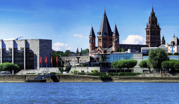Mainz Ville Rhin