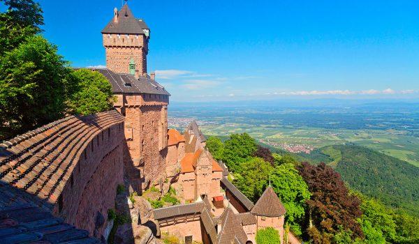 Château du Haut-Koenigsbourg, Frankreich